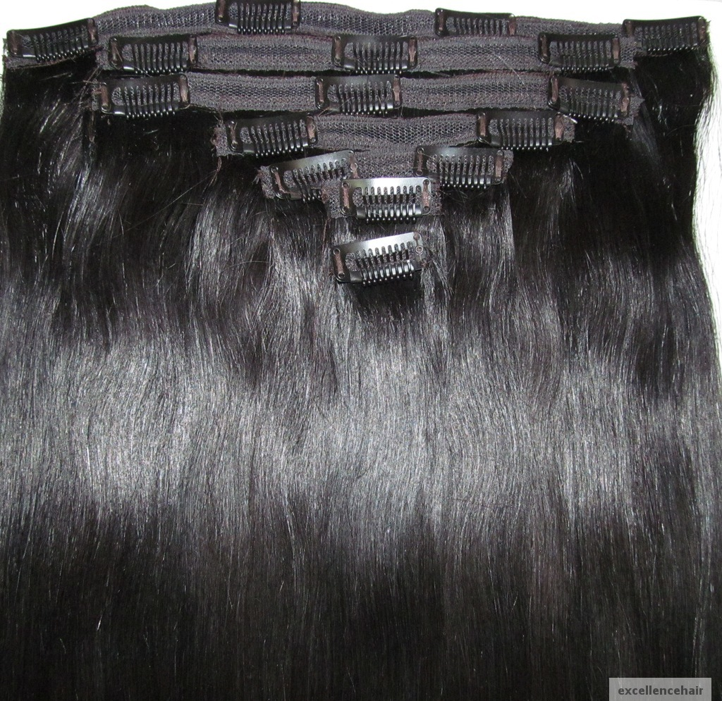 Virgin Clip On Hair Extensions Buy Virgin Clip On Human Hair